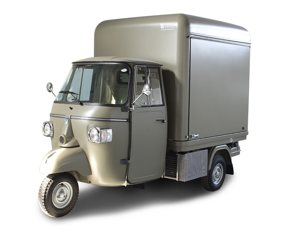 mini food truck piaggio tr3vor