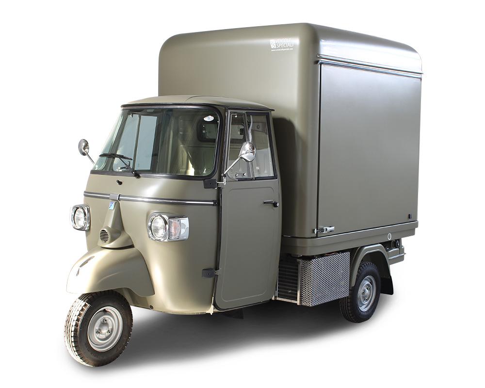 Mini Food Truck für die fahrende Restauration | Ape VCurve® | Tr3vor