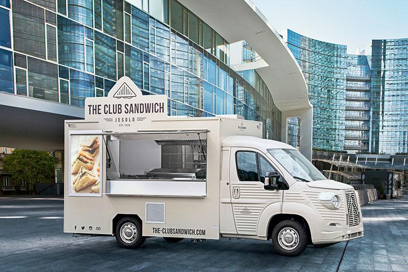food truck built on citroen van