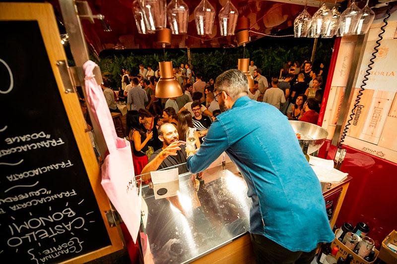 piaggio wine bar signorvino foto dell'evento aziendale