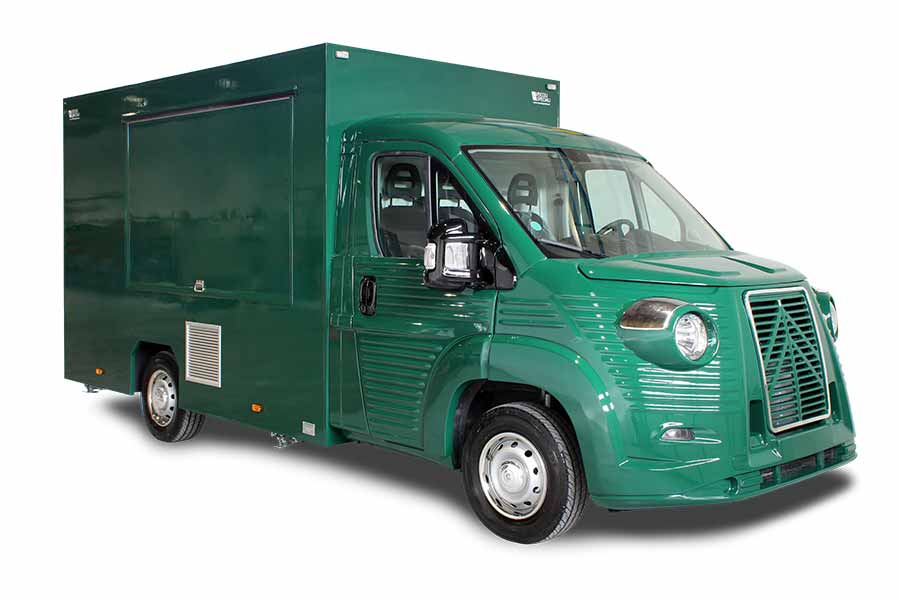 Food Truck NV Kostina per promozione marchio settore ristorazione