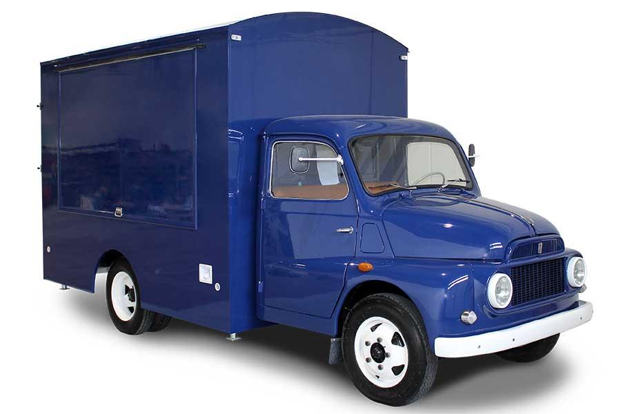 Food Truck Vintage OV Lavazza Fiat 616