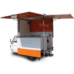 ape tm street food gelateria mobile usato in vendita