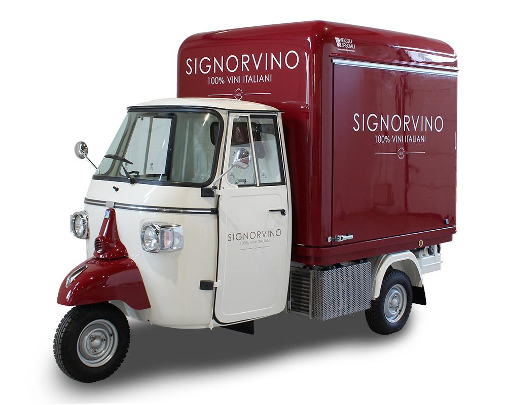 Bar á Vin Wine Truck Boutique a vins nomade pour promotion de votre marque et de votre entreprise
