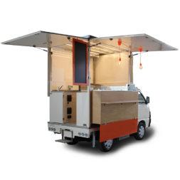 comprare food truck piaggio porter usato