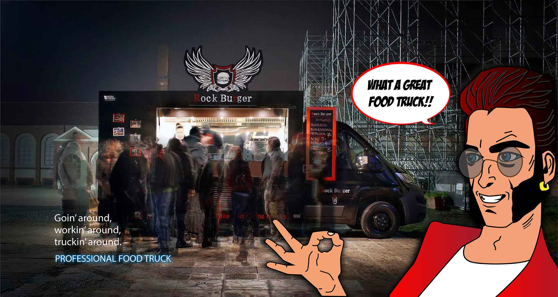 Professional Food Truck