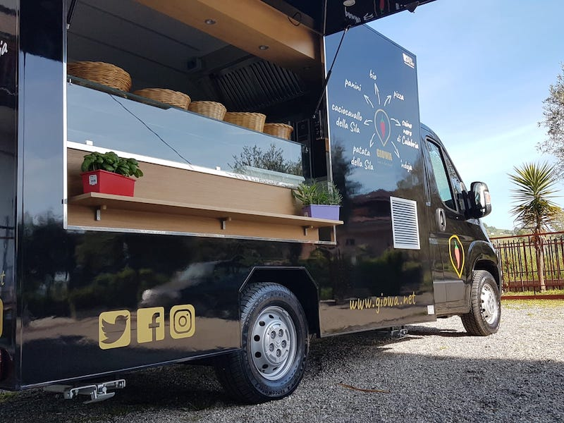 professional food truck citroen jumper giowa