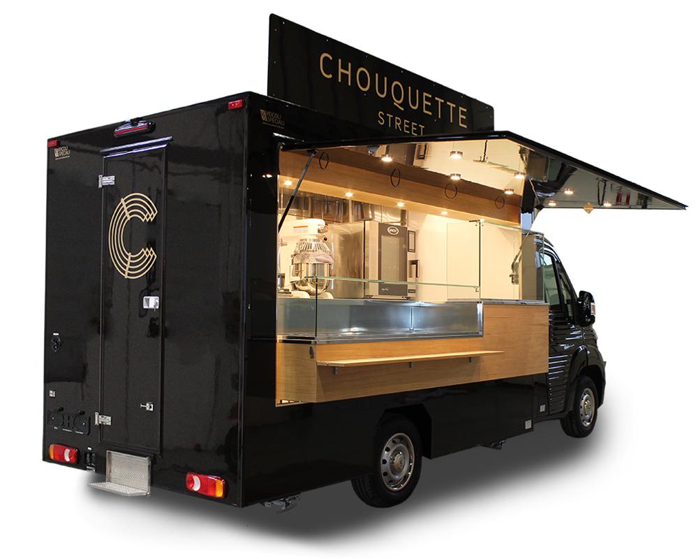 pasticceria mobile citroen food truck chouquette dolci e paste da forno - nv food truck personalizzato