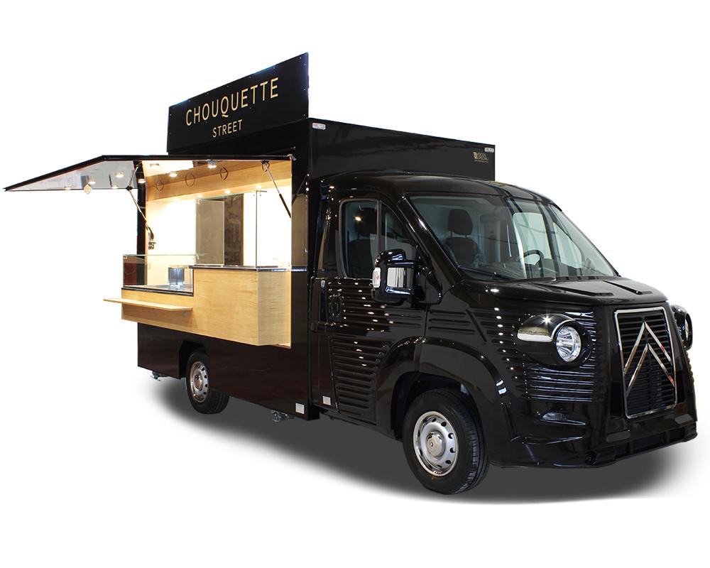 patisserie mobile chouquette nv food truck - vendita paste e prodotti da forno - promozione del marchio