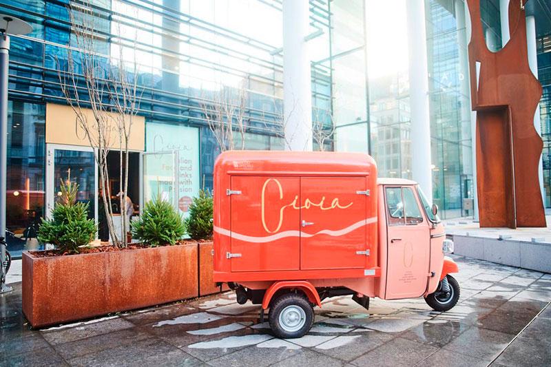 ape elettrica delivery veicolo per consegne a domicilio progettata per Gioia