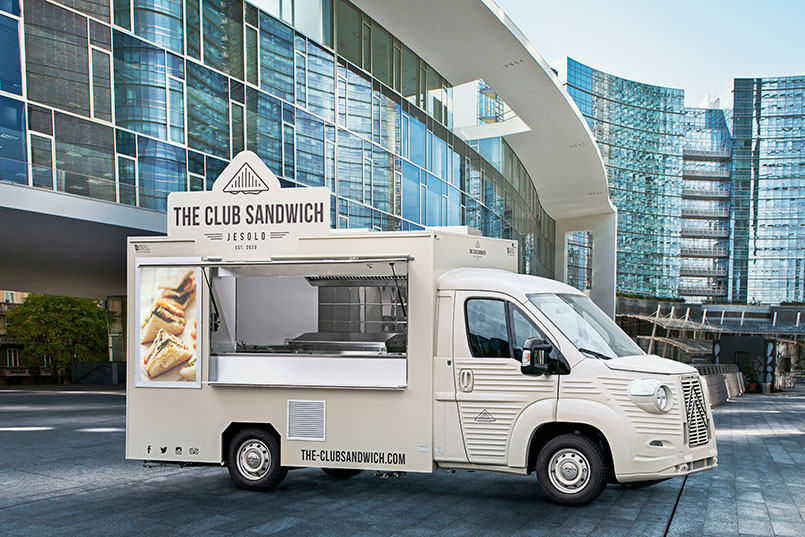 the club sandwich nv food truck ristorazione mobile