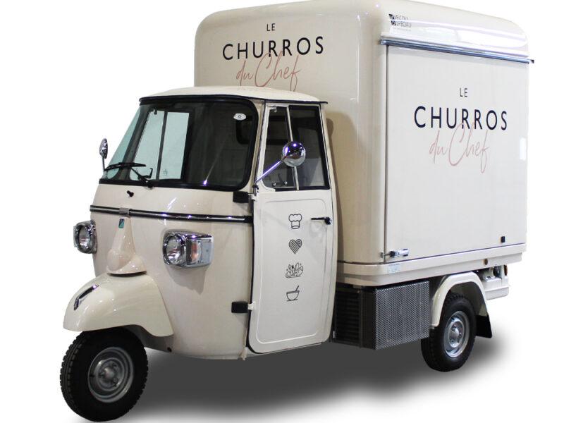 Churros Verkaufswagen | Maßgeschneiderten Ape | Les Churros du Chef