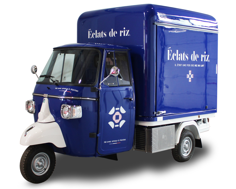 Food Vending Truck designed to serve Rice Pudding | Eclat de Riz