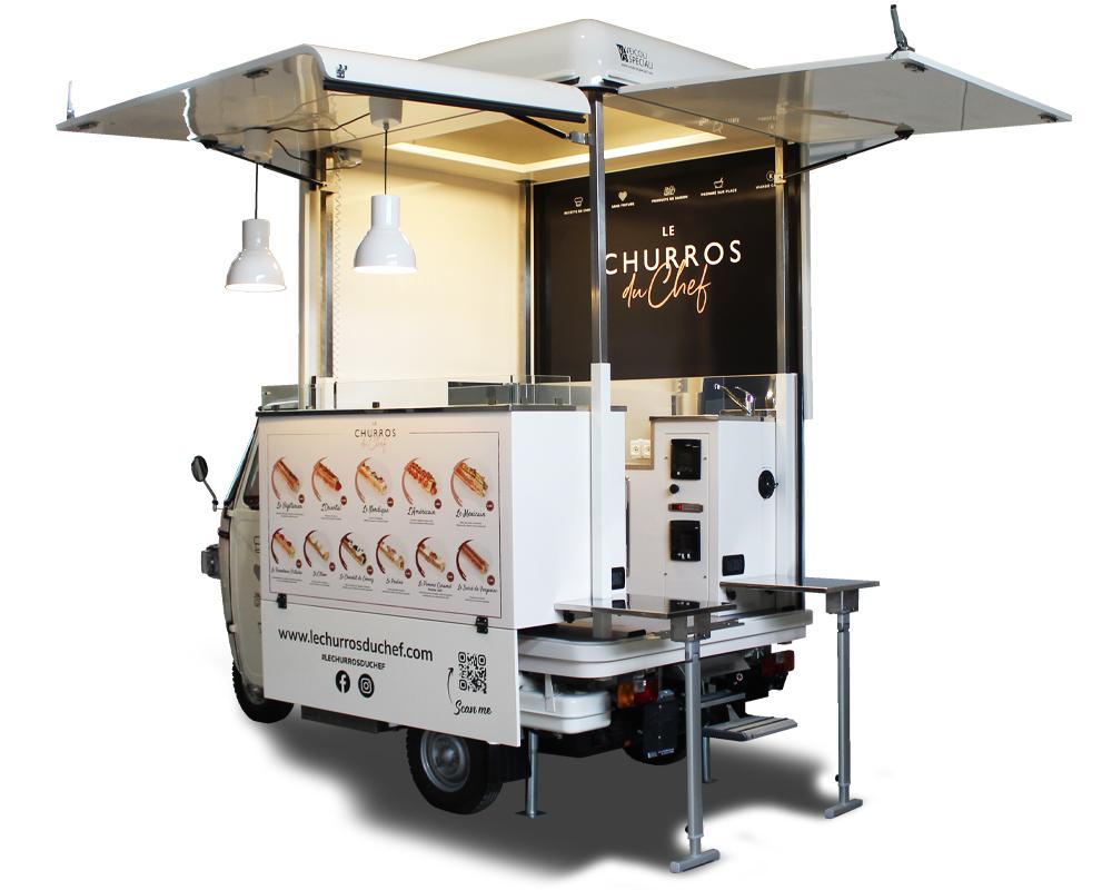 churreria mobile les churros du chef paris