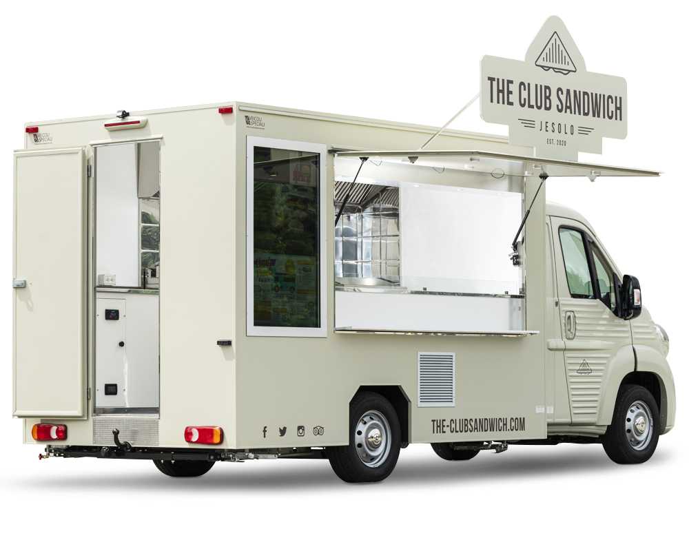 club sandwich jesolo nv food truck Citroên Jumper