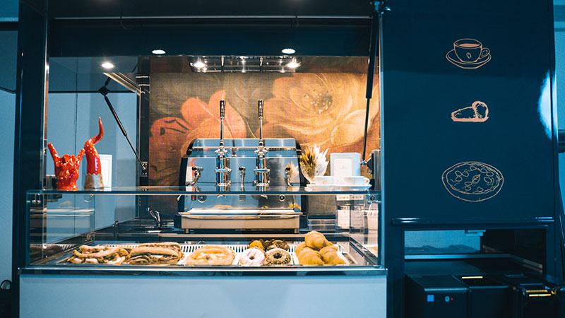 piaggio ape tr nuovo concetto di caffetteria per postazioni commerciali fisse