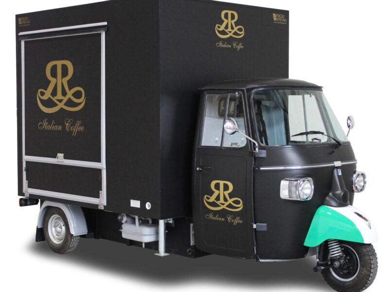 Piaggio Ape Kaffeemobil mit TR-Ausstattung – ITALIAN COFFEE