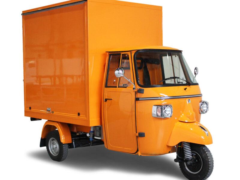 Petit Camion á Pizza Pizzavelo à partir d'un vélo jusqu'à un véhicule