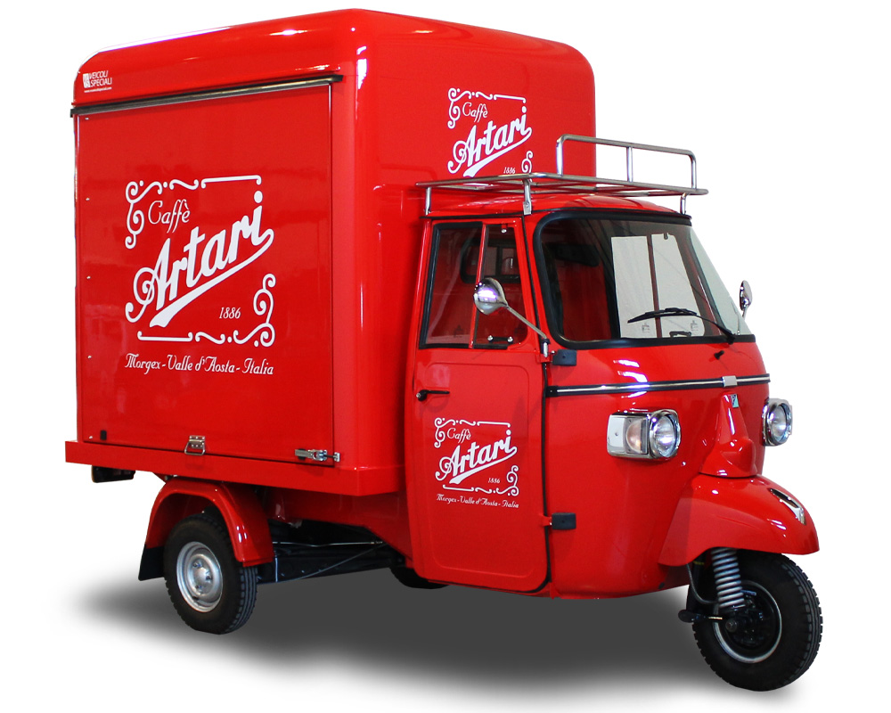 Small Coffee Van | EMPORIO ARTARI | Mobile Italian Coffee Shop