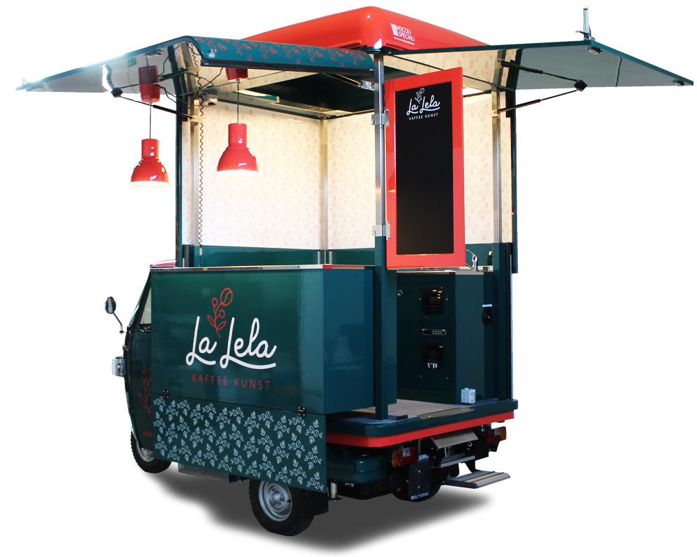 coffee truck caffetteria itinerante la lela