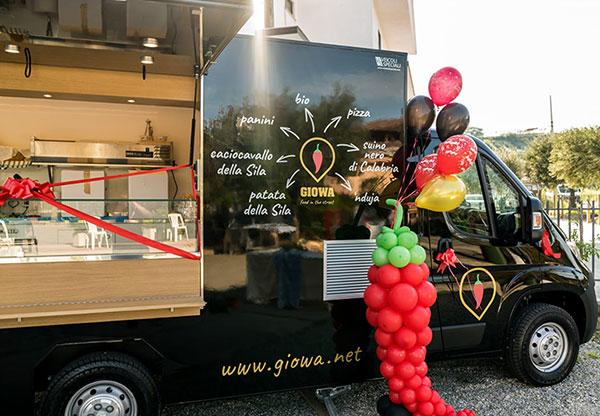 Renault Master Giowa Pizza food Trucks für Kauf von Straßenessen in Kalabrien