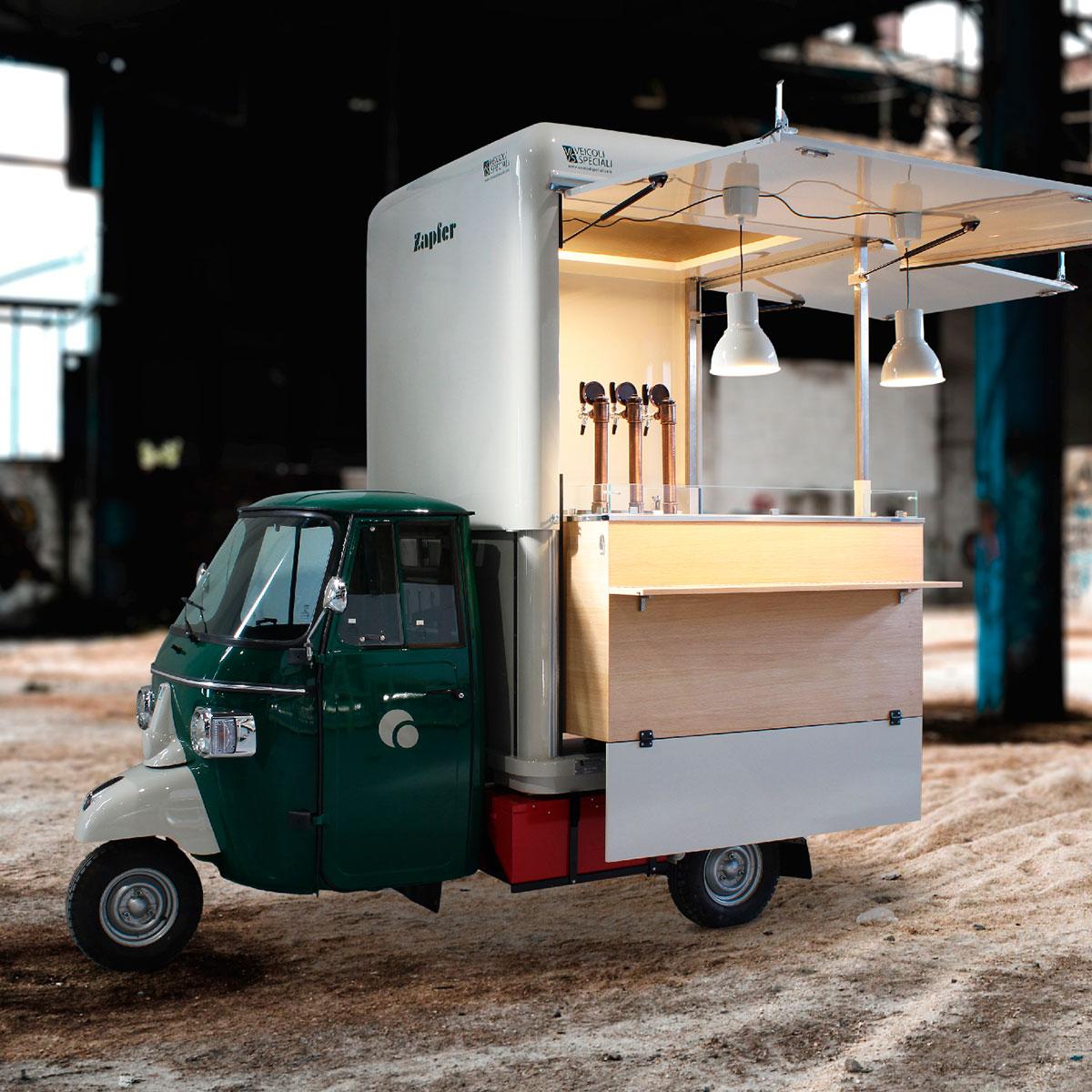 food truck cost of bierwagen brauerei zapfer elektro reflects the quality of the VS set-up