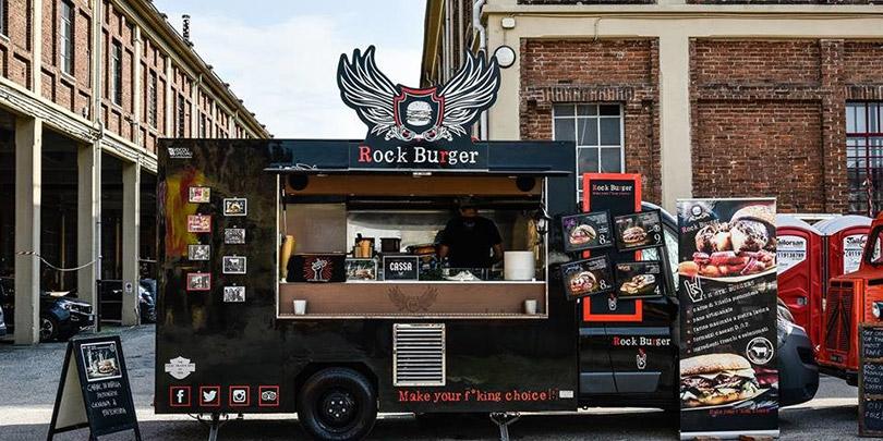 Rock Burger Truck proximo food Geschäftsmodelle