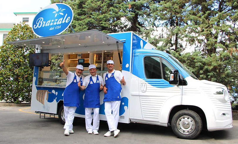 brazzale promo retail food truck