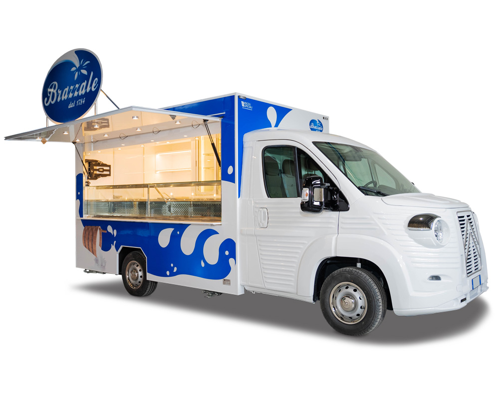 """nv food truck tour promozionale di Brazzale """"a tutto burro"""""""