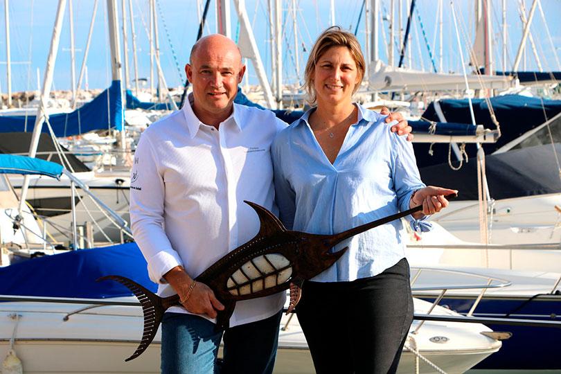 Le chef étoilé Yorann Vandriessche avec son épouse Bénédicte dans le nouveau restaurant 1 étoile Michelin