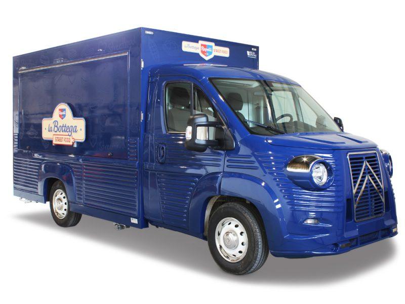 food truck salumeria rapelli blu - bottega di salumi ambulante