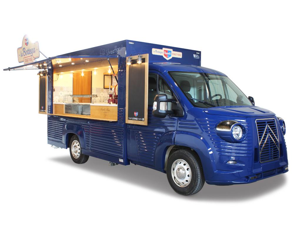 nv food truck salumeria e gastronomia rapelli con affettatrice